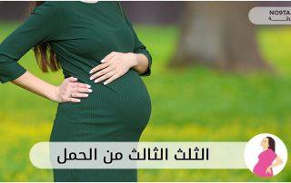 الثلث الثالث من الحمل